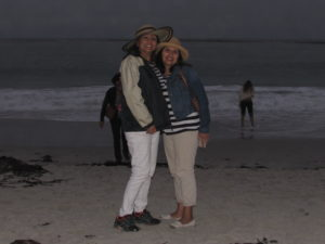 Rebecca and Mina my California Twin