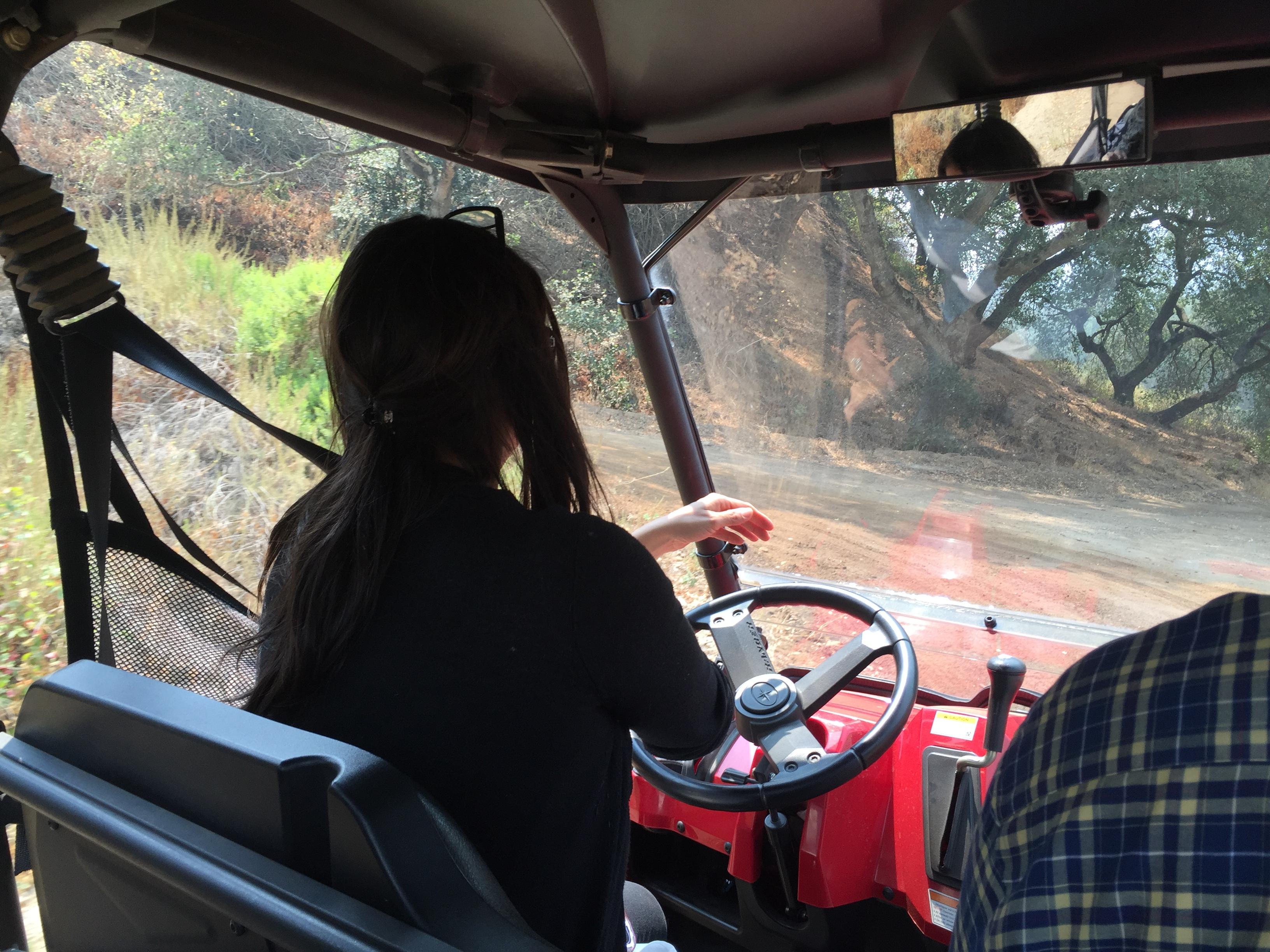 Hahn ATV tour with Amelia