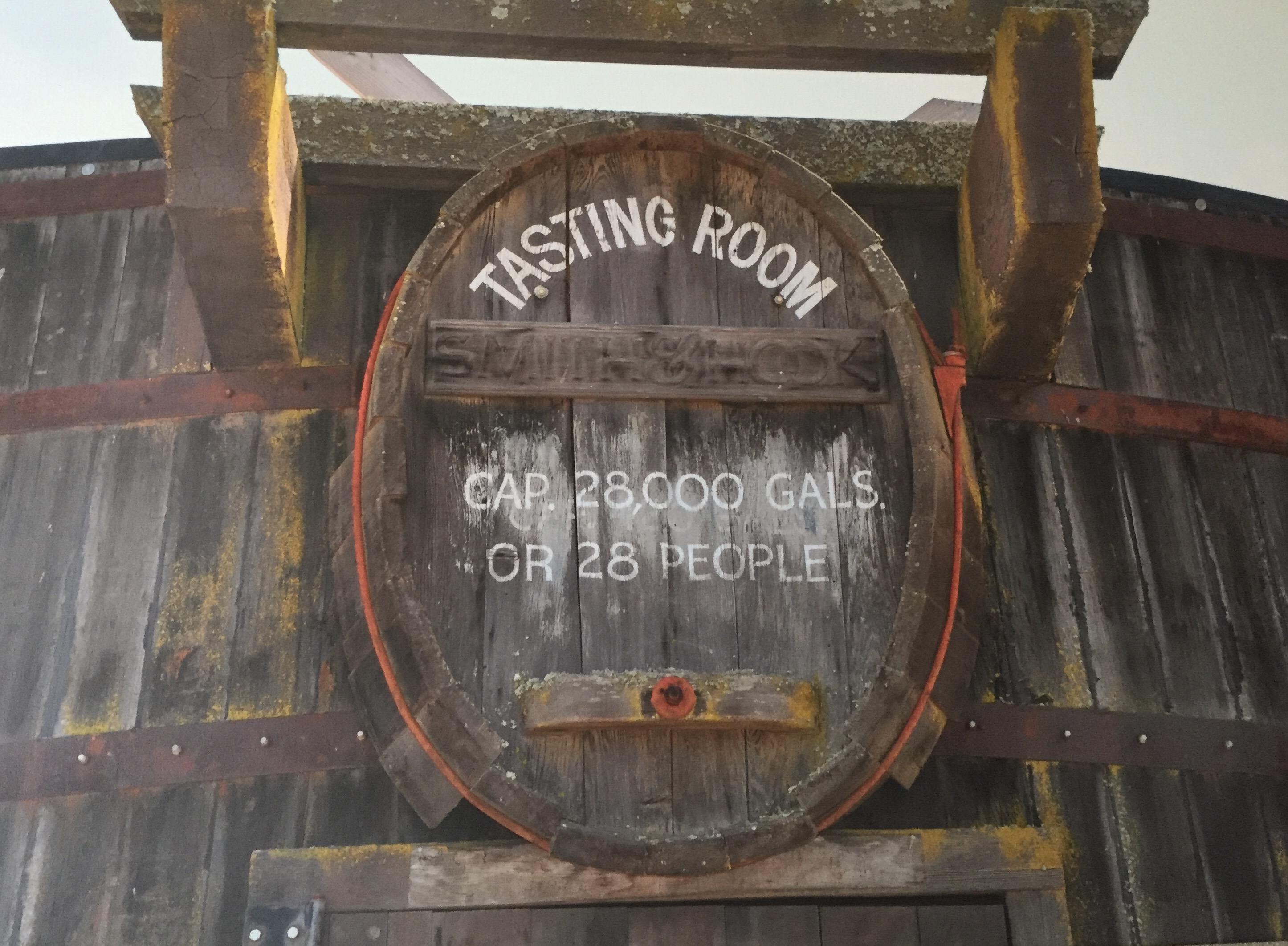 Hahn Winery old tasting room #Hahnwinery