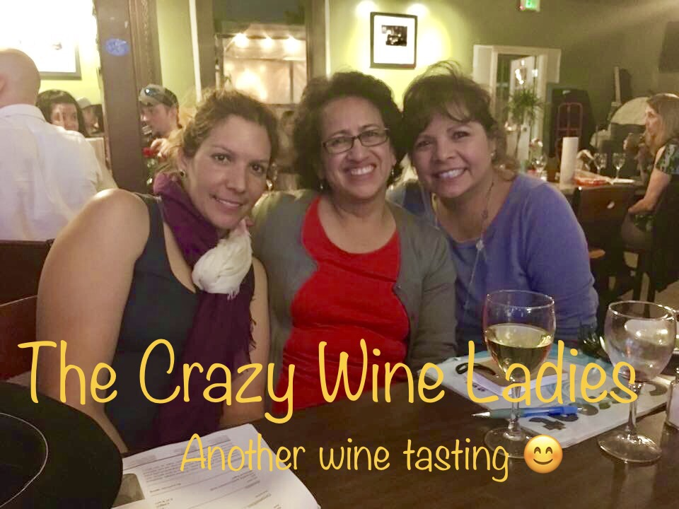 #crazywineladies wine tasting at The Cove