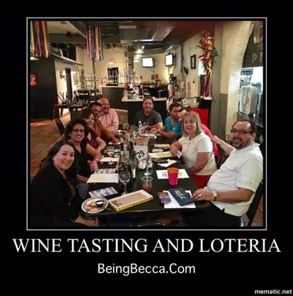 Deco Winos BeingBecca.com Wine Tasting