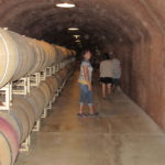 Napa Barrel room #thecrazywineladies