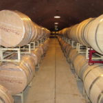 Benziger Winery Barrel Room Napa California