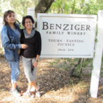 Benziger Winery with the #thecrazywineladies