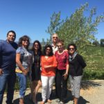 Deco Winos in Napa California Wine Tour Benziger Winery #thecrazywineladies