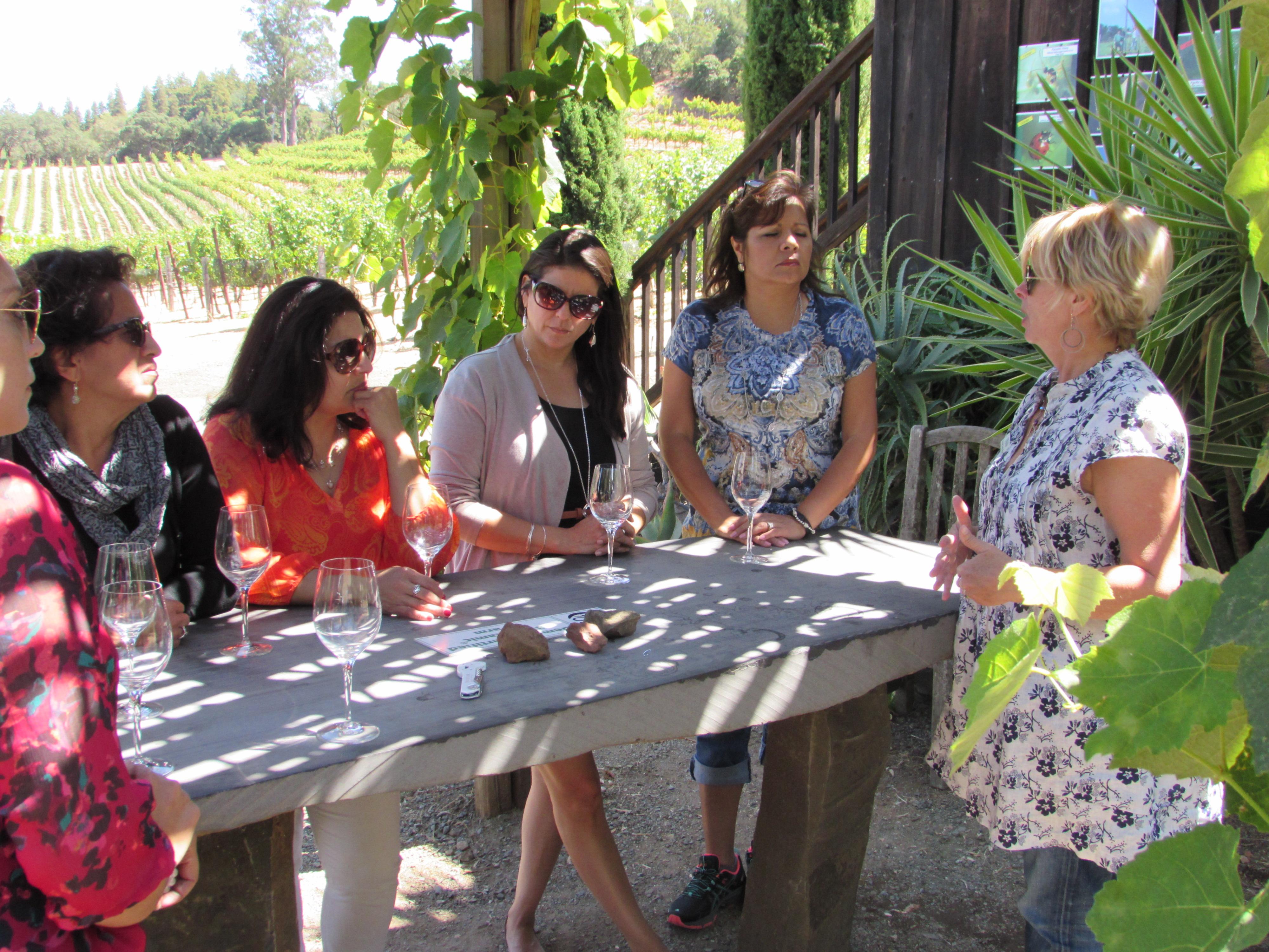 Wine Tour and Tasting Napa California #crazywineladies