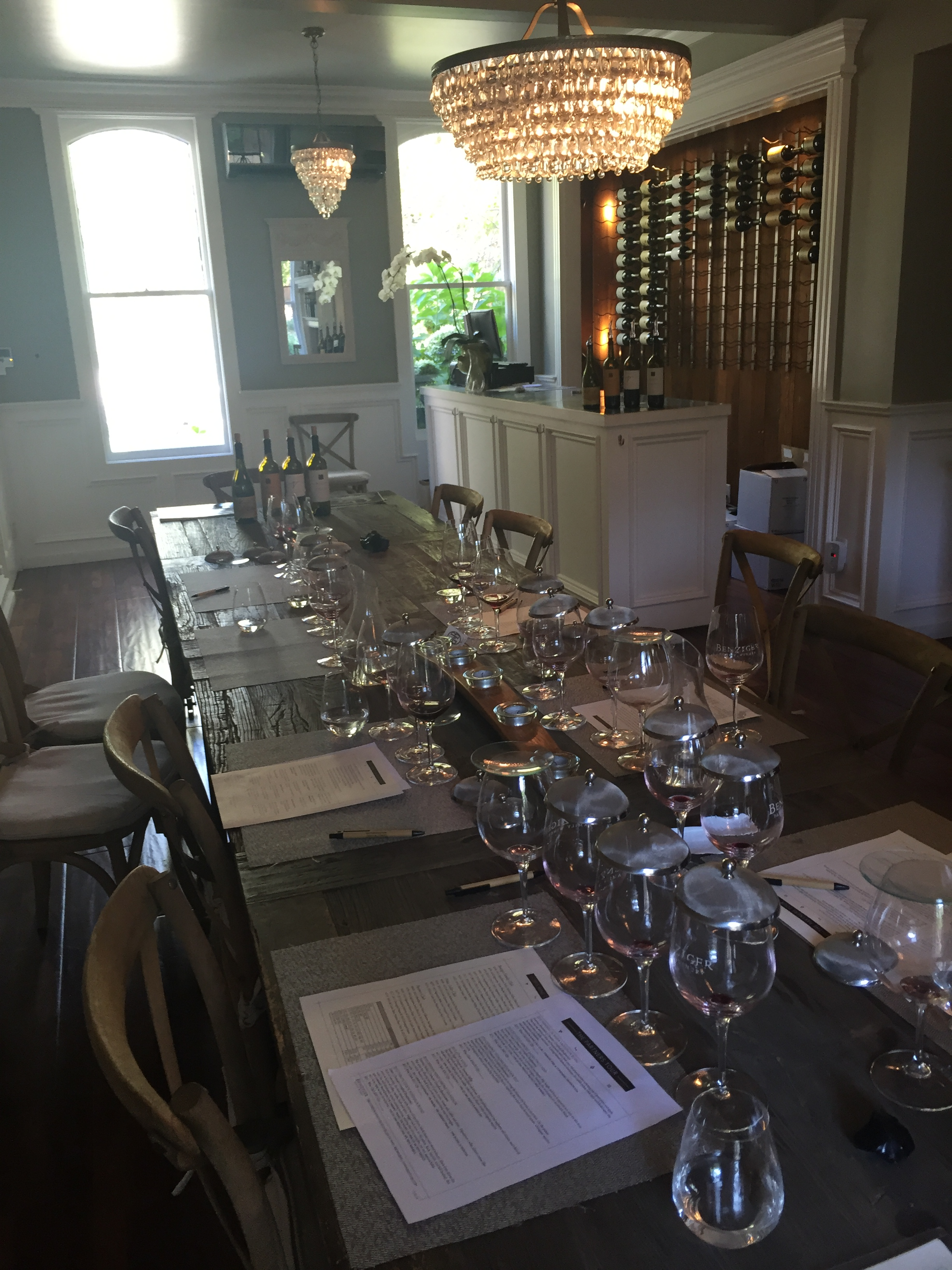 Benziger Winery Tasting Room beingbecca.com