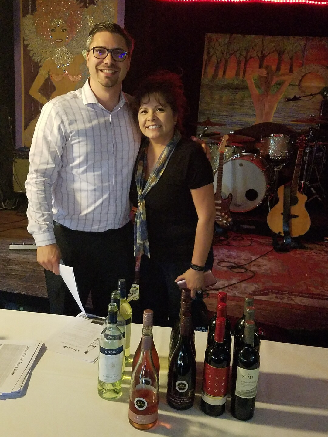 Wine Tasting with Mathieu and Republic National Distributing Co. #winetasting #thecrazywineladies