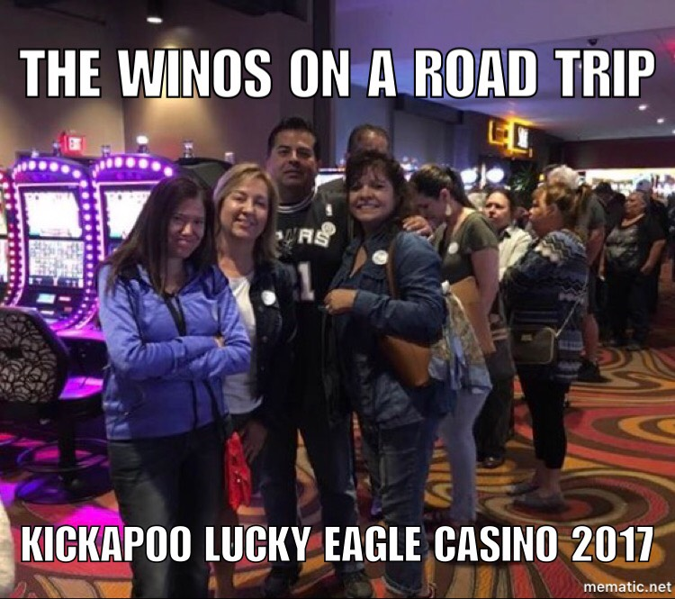 Deco Winos at Kickapoo Lucky Eagle Casino #Winos