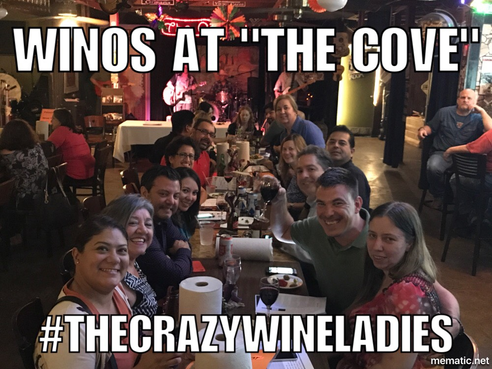 Deco Winos at The Cove San Antonio wine tasting. #thecrazywineladies #thecovesanantonio #decowinos