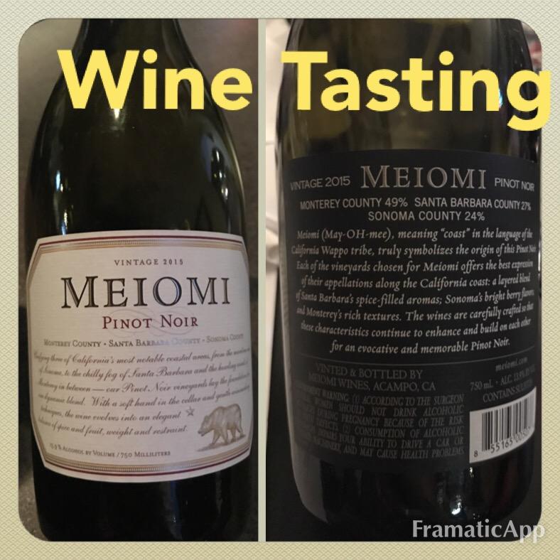 #winetasting #thecrazywineladies #meiomipinotnoir