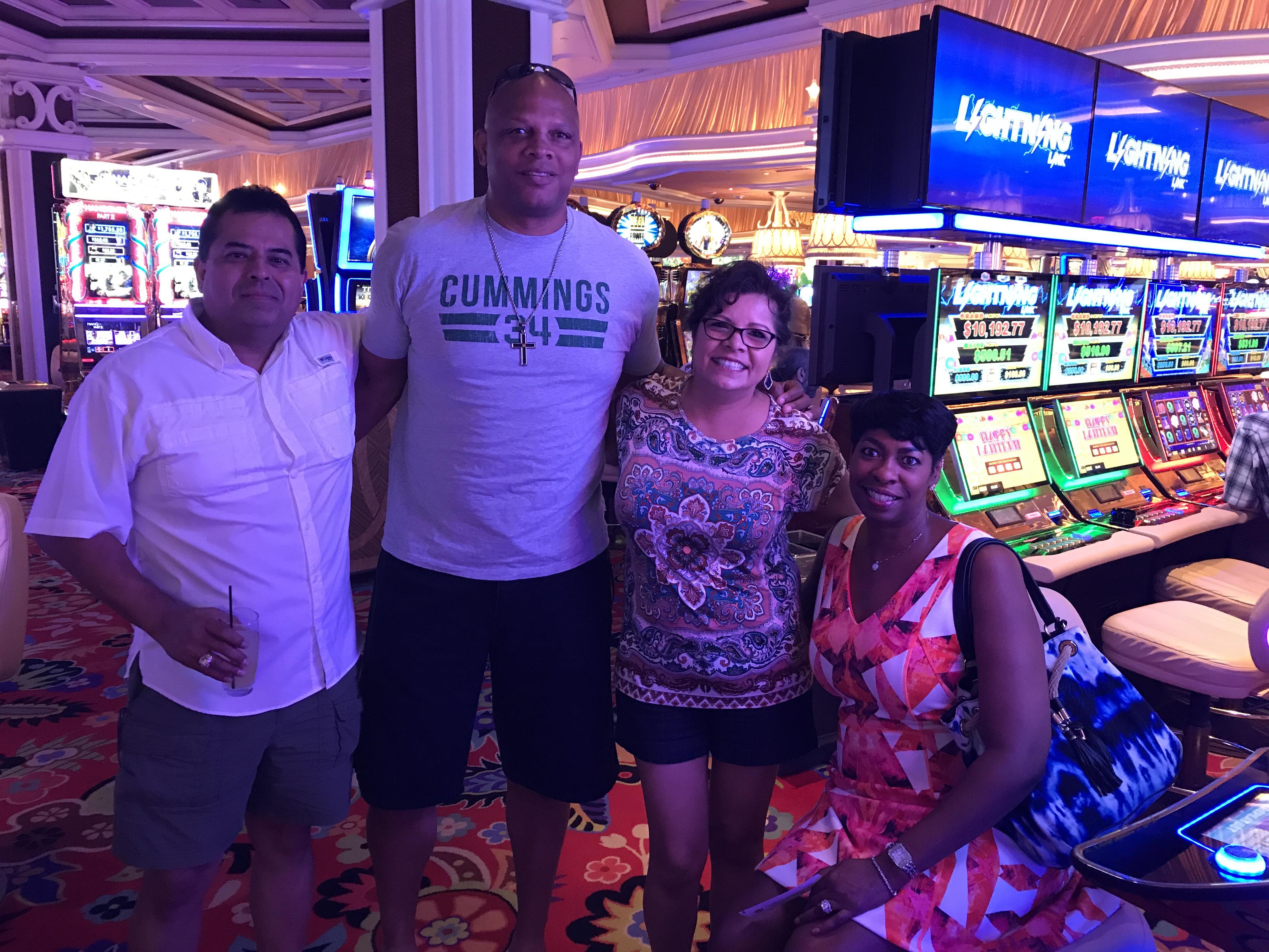 Vegas Terry Cummings crazy fun vacation.